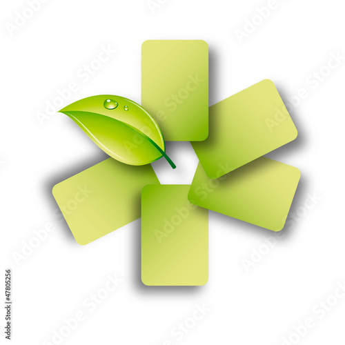 Green Bio Logo Leaf