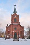 Jyvaskyla, Finland. Lutheran Cathedral poster