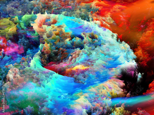 Dance of Fractal Paint