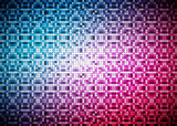 Renkli soyut parlak vektörel doku poster