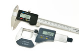 Digital caliper and micrometer