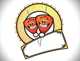 Logotipo taqueria Trompo de tacos al pastor