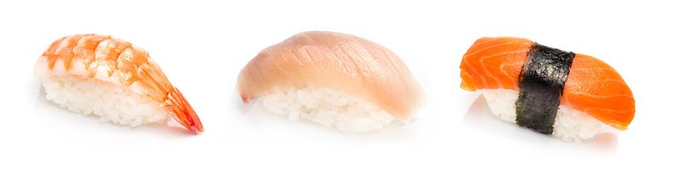3 sushi combo