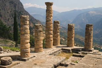 Columns of the Temple of Apollo