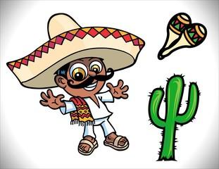 Mexicano alegre