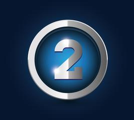 Number 2 steel blue