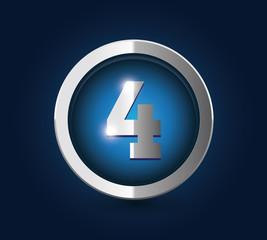 Number 4 steel blue