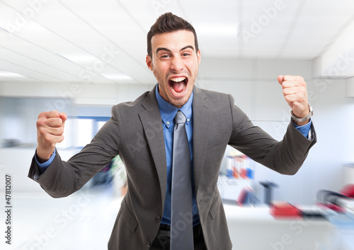 Very happy man