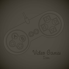 Videogames icons