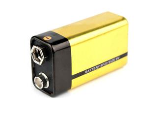 yellow 9v battery