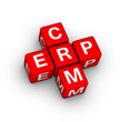 ERP and CRM symbol