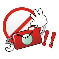 Compact Camera warning