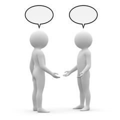 3d human - meeting