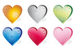 set icon hearts