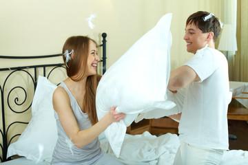 Pillow battle
