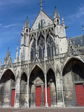 The saint Urbain basilica in Troyes in France