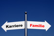 Karriere-Familie
