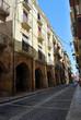 Arcades et rue de Tarragone