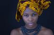 Der Blick einer afrikanischen Frau