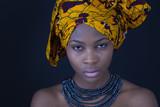 Fototapete Afrikanerin - Nomaden - Frau