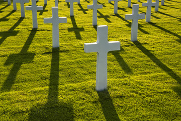 American soldiers war graves