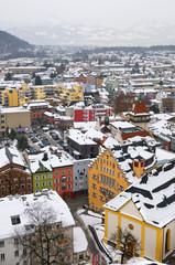 Austria - Veduta di Kufstein dall'omonima fortezza