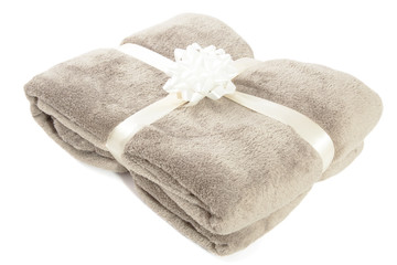 Fluffy christmas gift