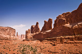 Park Avenue - Arches National Park, Utah - USA