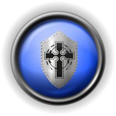 Glass shield icon