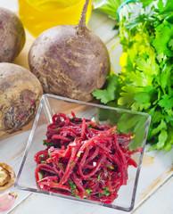 salad with beet