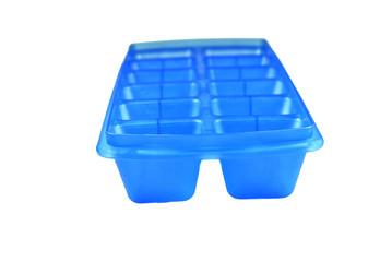 Голубая форма для заморозки льда