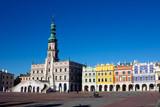 Miasto Zamościa. Znajduje się na Liście Światowego Dziedzictwa UNESCO