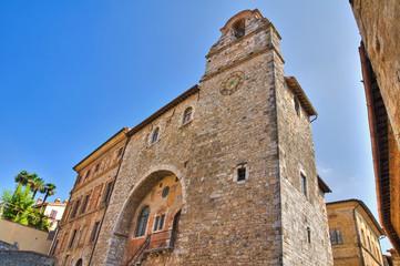 Pretorio palace. San Gemini. Umbria. Italy.