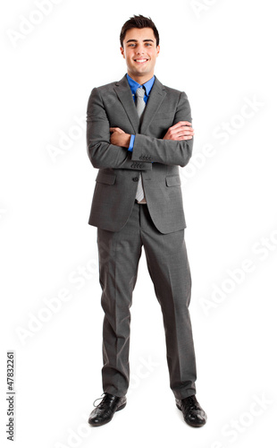 Full length businessman
