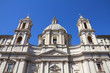 Rome - church of Sant Agnese in Agone