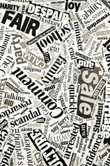 tabloid newspaper headlines