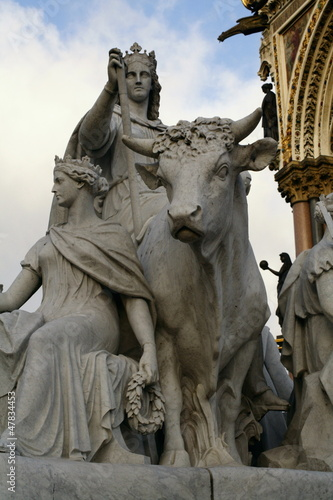Albert Memorial at Hyde Park London