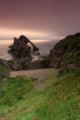 Rocher écossais: Bow Fiddle Rock