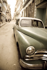 Cuban antique car
