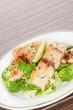Seafood plate.