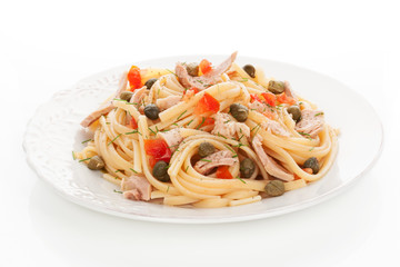 Delicious pasta.