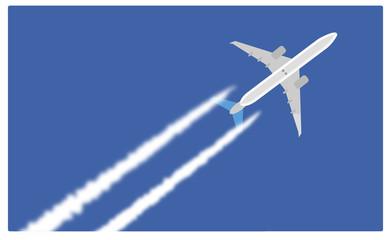Scie di condensazione dell'aereo - aerodinamica