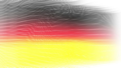 wonderful german color flags video animation - loop HD