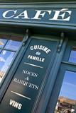 Café, bistrot, France, restaurant, façade, déjeuner, rétro