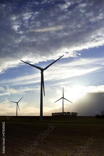 Eolienne, énergie, propre, écologie, environnement