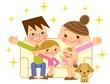 幸せ家族 親子