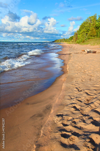 Michigan Lake Superior Beach