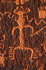 Petroglyph on Newspaper Rock