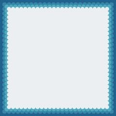 Vector simple decorative photoframe