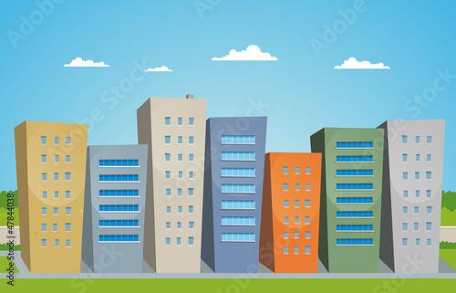 Cartoon Buildings